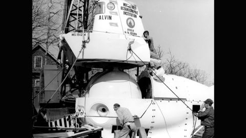 Despite being submerged for the best part a year, the team noted little structural damage to the sub. In fact, the lunches that had been left on board when the crew made a hasty escape were found to be soggy but still edible. Alvin underwent a significant refit, pictured, following the sinking and wouldn't return to the water until May 1971.