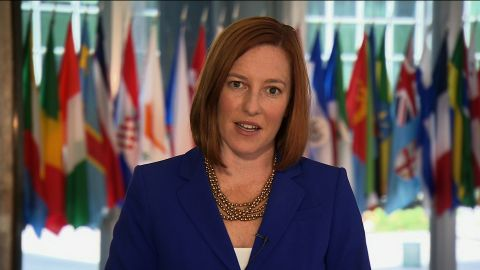 State Depaertment spokeswoman Jen Psaki was the subject of a Twitter squabble with Bill O'Reilly.