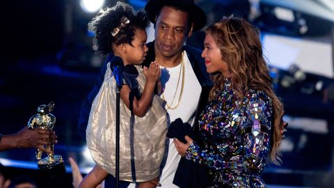 """At the 2014 MTV Video Music Awards, Beyonce was awarded <a href=""""http://www.cnn.com/2014/08/07/showbiz/celebrity-news-gossip/beyonce-mtv-video-music-awards/"""" target=""""_blank"""">with the Michael Jackson Vanguard Award,</a> which is given to """"exemplary musicians who have made an incredible and long-lasting impact on pop culture."""" The singer accepted the award on August 24 from her husband, Jay Z, and daughter, Blue Ivy."""