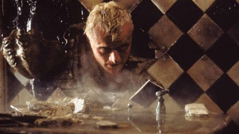 """In """"Blade Runner,"""" Rutger Hauer plays Roy Batty, a replicant, which is a bioengineered android that looks indistinguishable from humans."""
