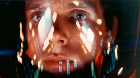 """Machines have surpassed humans in physical strength, speed and stamina. What if they surpassed human intellect as well? Science fiction movies have explored this question. In the classic """"2001: A Space Odyssey,"""" astronaut David Bowman, played by Keir Dullea, struggles for control of the spacecraft against the sentient computer HAL 9000."""