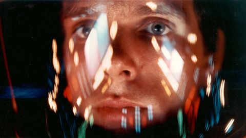 Still of Keir Dullea in 2001: A Space Odyssey (1968)
