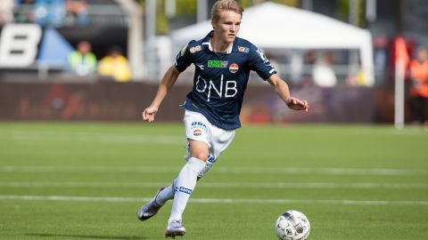 """This <a href=""""https://www.cnn.com/2015/01/22/football/real-madrid-martin-odegaard-transfer/"""" target=""""_blank"""">16-year-old Norwegian soccer sensation</a> was headhunted by Real Madrid, and whilst he's set to play for Real's B team his home country is rooting for him to debut this season."""