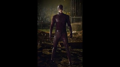 """Gustin stars in the CW's hit series """"The Flash."""""""