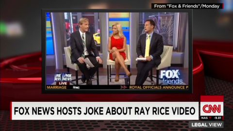 sot lv fox news ray rice elevator joke _00001825.jpg