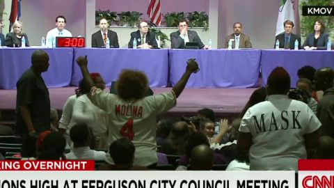 Protests at Ferguson city council meeting Pereira Newday _00001107.jpg
