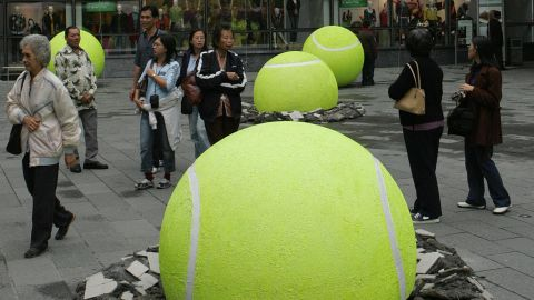 When international events set up in China, Shanghai is as often as not the default host city. The Shanghai Masters tennis championship is one of many world-class gatherings.
