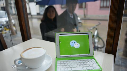 WeChat has taken China by storm in just three years, allowing its more than 300 million users to send text, photos, videos and voice messages over smartphones, find each other by shaking their devices -- a common dating technique -- and even book and pay for taxis.