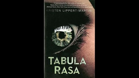 """Kristen Lippert-Martin's debut novel, """"Tabula Rasa,"""" has been described as """"The Bourne Identity"""" meets """"Divergent."""" Sarah has the chance to undergo a new procedure that will give her troubled memory a blank slate. But her surgery is interrupted by a team of soldiers and Pierce, a teen computer hacker, giving Sarah a chance to figure out her past and her future at the same time. Publishers Weekly says """"both Sarah and Pierce are layered and appealing characters."""""""