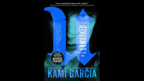 """Bestselling """"Beautiful Creatures"""" co-author Kami Garcia returns with the second installment of her Legion series in """"Unmarked."""" In a world of ghosts and demons, Kennedy Waters and her fellow Legion members have to hunt down a demon she accidentally set free, revealing more about the Legion's history. Kirkus Reviews says """"Fans hungry for more Legion tales will be left waiting breathlessly for Garcia's next installment."""""""