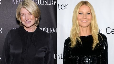 """It seems Martha Stewart isn't the biggest fan of Gwyneth Paltrow's lifestyle brand, GOOP, but Paltrow isn't bothered. After Stewart <a href=""""http://pagesix.com/2014/09/12/martha-stewart-thinks-gwyneth-paltrow-should-stick-to-acting/"""" target=""""_blank"""" target=""""_blank"""">commented </a>in an interview that Paltrow """"just needs to be quiet"""" and not try """"to be Martha Stewart,"""" Paltrow took it as a compliment. """"I'm so psyched that she sees us as competition,"""" the actress said in October."""