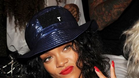 """Rihanna is steaming. A song by the singer -- who was assaulted by then-boyfriend Chris Brown in 2009 -- was pulled from """"Thursday Night Football"""" in September 2014 amid coverage of domestic violence and the Ray Rice scandal. She<a href=""""https://twitter.com/rihanna/status/511844041131327488"""" target=""""_blank"""" target=""""_blank""""> later tweeted,</a> """"CBS you pulled my song last week, now you wanna slide it back in this Thursday? NO, F*** you! Y'all are sad for penalizing me for this."""""""