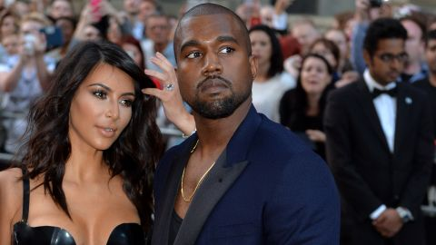 <strong>September 2015:</strong> West, here with wife Kim Kardashian, asked that concertgoers get to their feet at a show in Sydney. No problem -- until he demanded that some disabled spectators do the same and made snide remarks about a person in a wheelchair.