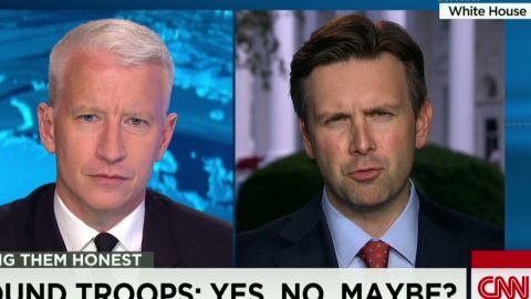 ac josh earnest on mixed messages about ground troops_00044311.jpg