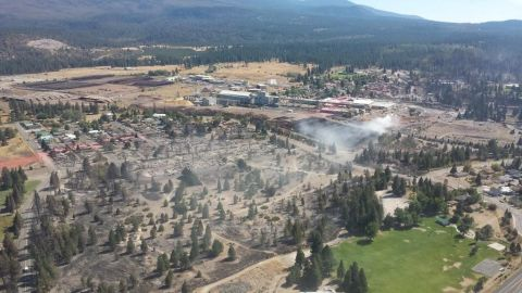 Weed, California, smolders in the aftermath of the Boles Fire
