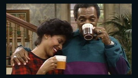 """Cosby's biggest TV hit, <a href=""""http://edition.cnn.com/2014/09/19/showbiz/tv/bill-cosby-influence/"""">""""The Cosby Show,""""</a> premiered in 1984. Phylicia Rashad played his wife, Clair Huxtable."""