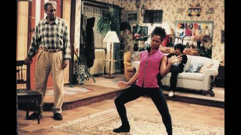 """After """"The Cosby Show"""" was another sitcom, """"Cosby,"""" which aired from 1996 to 2000. Cosby played retired airline agent Hilton Lucas. The show also starred T'Keyah Crystal Keymáh."""
