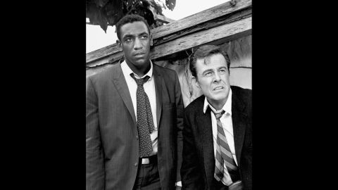 """Cosby won three Emmys for his portrayal of Alexander Scott, an Oxford-educated spy who travels undercover with his tennis-playing partner, Kelly Robinson (Robert Culp) in """"I Spy,"""" which aired on NBC from 1965 to 1968. Cosby was the first African-American to star in an American dramatic series."""