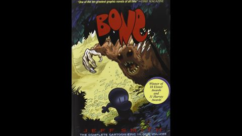 """Political viewpoints, racism and violence were the top reasons cited in challenges to Jeff Smith's """"<a href=""""http://www.boneville.com/"""" target=""""_blank"""" target=""""_blank"""">Bone</a>"""" comics. The award-winning series made its debut on the ALA's list of top 10 most frequently challenged books in 2013."""