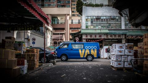 """Hong Kong's Gogovan aims to be the """"Uber for logistics"""" and already has 50,000 plus transactions a day. """"Gogovan has very ambitious goals,"""" says Napoleon Biggs, digital media specialist. """"They've seen what Uber has done and want to do the same with transport. This plays well across a lot of countries in Asia."""""""