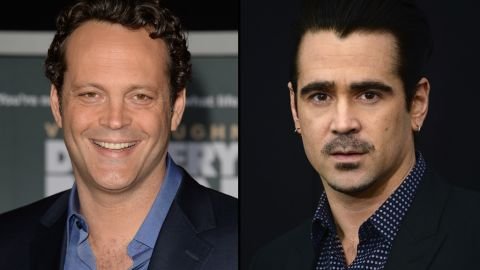 """Colin Farrell, right, and Vince Vaughn are the leads for the second season of """"True Detective."""""""