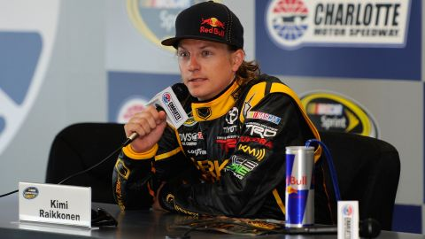 Raikkonen also brought his inimitable interview style to NASCAR in 2011 when he competed in two races.