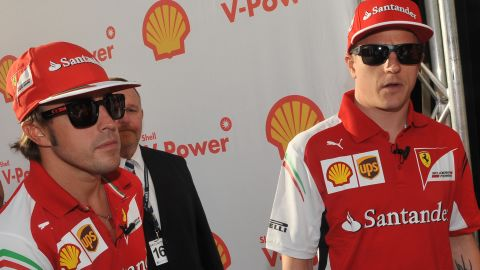 In 2014 Raikkonen paired up with Alonso at Ferrari in what was seen as a dream duo of former champions. However, both struggled with an under-performing car.