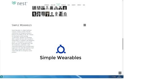 """Simple Wearables has created a wearable device to bring emergency assistance to the elderly -- it can detect and get help for someone if they've had a fall. """"This HK-based startup combines social good with cutting edge wearable technology,"""" says Squibb."""
