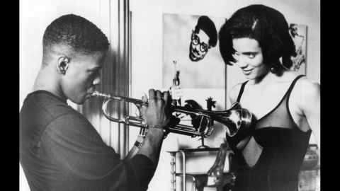 """<strong>""""Mo' Better Blues"""" (1990)</strong>: After playing heroes, Washington dabbled in a more complicated role in this Spike Lee Joint. As a jazz-playing lothario named Bleek Gilliam, Washington's status as a seductive romantic and comedic lead was secured."""