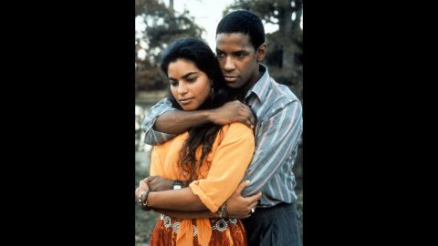 """<strong>""""Mississippi Masala"""" (1991)</strong>: Surely films like this 1991 love story of an interracial relationship helped Washington land the 1996 title of """"Sexiest Man Alive"""" from People magazine. Sarita Choudhury co-stars in this story about an Indian woman and an African-American man falling for one another in spite of racial prejudices."""