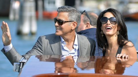 """George Clooney took a while to get married again, and you would think folks would have been thrilled when he wed Amal Alamuddin in 2014. They have been the subject of <a href=""""http://www.inquisitr.com/1717936/george-clooney-amal-alamuddin-divorce-couple-reportedly-ready-to-split-just-months-after-marrying/"""" target=""""_blank"""" target=""""_blank"""">gossip that things aren't going well</a>, but in 2017 <a href=""""http://www.cnn.com/2017/06/06/entertainment/george-clooney-amal-clooney-twins/index.html"""">welcomed a set of twins. </a>"""