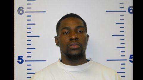 Alton Alexander Nolen appears in a mug shot from a 2010 arrest in Logan County, Oklahoma.