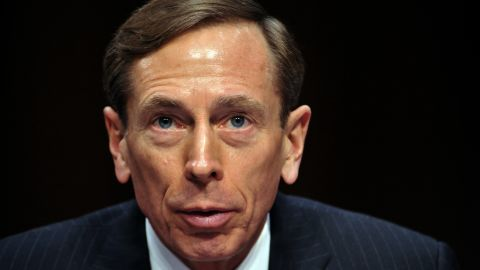 """CIA Director David Petraeus, testifies before the US Senate Intelligence Committee during a full committee hearing on """"World Wide Threats.""""  on January 31, 2012 on Capitol Hill in Washington D.C."""