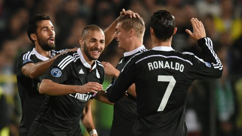 Before the start of this season, the Frenchman has put together five consecutive campaigns in which he had scored at least 20 goals for  Real Madrid.