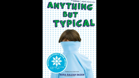 """""""Anything But Typical"""" is told from the perspective of 12-year-old Jason Blake, who has high-functioning autism. Jason is happy to make a new friend, Rebecca, on an online writing forum called Storyboard but begins to stress over the possibility of interacting with her in person."""