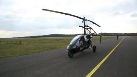Several flying cars are already in production. The Pal-V can carry two people at 180kph and has a range of 350-500km.