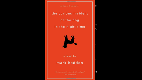 """""""The Curious Incident of the Dog in the Night-Time"""" is narrated by autistic 15-year-old Christopher Boone, who is mathematically gifted and literal-minded, as he investigates the murder of his neighbor's poodle. The book received the 2004 Dolly Gray Award."""