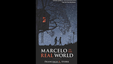 """In """"Marcelo in the Real World,"""" 17-year-old Marcelo Sandoval has Asperger's syndrome, hears music in his head and is obsessed with religion. But Marcelo's father pushes him to work in the mail room of a law firm, even though he has to deal with people trying to take advantage of him. The book is the winner of the 2010 Schneider Family Book Award, which honors authors or illustrators whose books embody """"an artistic expression of the disability experience for child and adolescent audiences."""""""