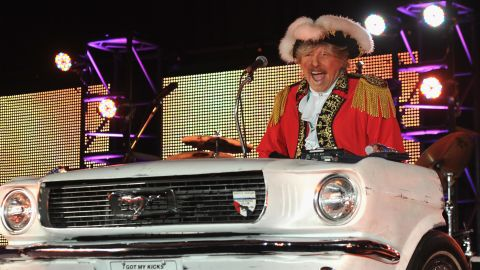 """<a href=""""http://www.cnn.com/2014/10/05/showbiz/paul-revere-obit/index.html"""" target=""""_blank"""">Paul Revere</a>, leader of the 1960s rock band Paul Revere and the Raiders, died October 4 at his home in Idaho, according to the band's website. He was 76."""