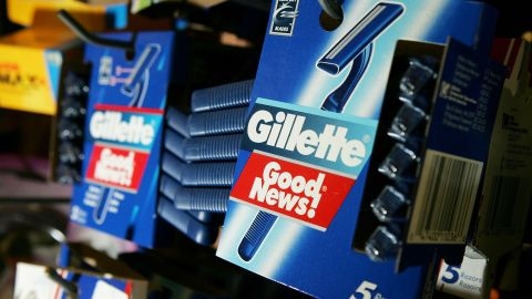 Gillette retained its spot as the top fast-moving consumer goods company, despite losing 9% of its brand value.
