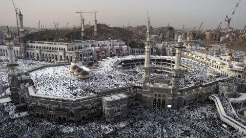 The annual Hajj pilgramage draws more than 2 million Muslim pilgrims from around the world.