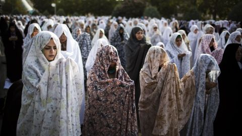 The chador is another kind of loose, full-length robe or cloak. It covers the head but not the face.