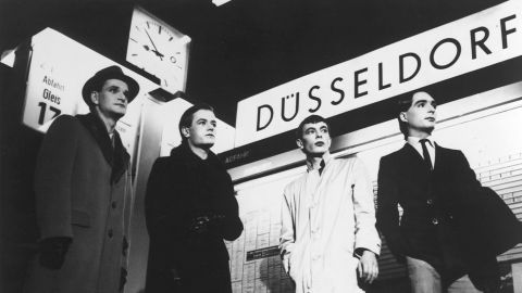 """Kraftwerk's synthesized sound first gained wide renown with 1974's """"Autobahn,"""" an electronic evocation of a ride down a German highway. Other notable works include """"Trans-Europe Express"""" and """"Computer World."""""""