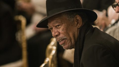 Actor Morgan Freeman donated $1 million to a pro-Obama super PAC in 2012.