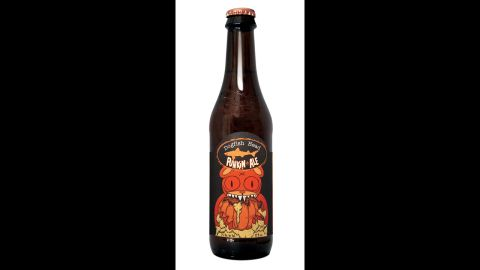 Mild and malty, Dogfish Head's Punkin is a great introduction to pumpkin ales. (7% ABV)