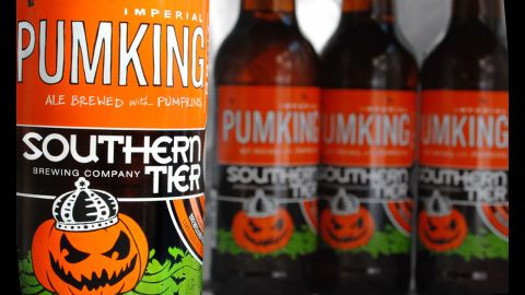 Southern Tier's Pumking is sweet enough to be enjoyed as dessert beer. (8.6% ABV)