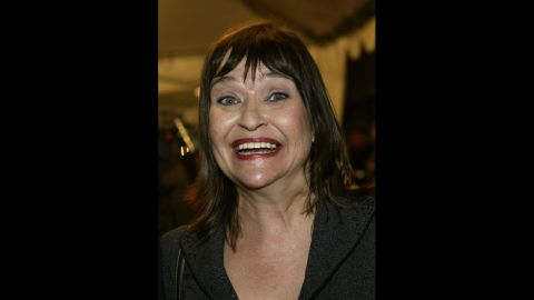"""Actress and comedian <a href=""""http://www.cnn.com/2014/10/09/showbiz/comedian-actress-jan-hooks-dies/index.html?hpt=hp_t2"""">Jan Hooks</a> died in New York on October 9. Her representative, Lisa Lieberman, confirmed the death to CNN but provided no additional information. According to IMDb.com, Hooks was 57."""