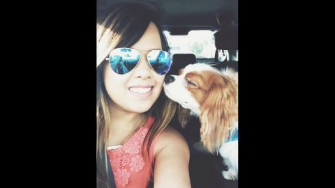 """The Facebook photo of """"Nina Pham"""" is being used under fair use guidelines. This means that you must write specifically to the photo, use only as much as is needed to make your editorial point, no use in promos, bumps or teases. Must font """"From Facebook"""". Please consult your assigned attorney if you have questions."""
