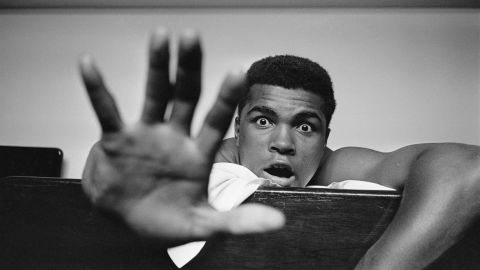 Ali boldly predicted it would take him five rounds to knock out British boxer Henry Cooper ahead of their bout in London in 1963. The fight was stopped in the fifth round as Cooper was bleeding heavily from a cut around his eye.