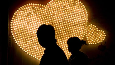 """Lonely hearts in China can sign up to receive texts and phone calls from a virtual """"girlfriend"""" or """"boyfriend."""""""
